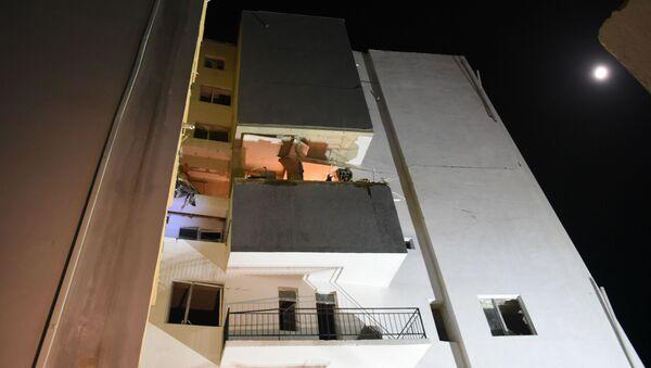 Взрыв в жилом доме на окраине Тбилиси  - Sputnik Грузия