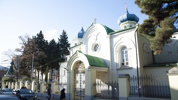 Церковь святого Александра Невского - Sputnik Грузия