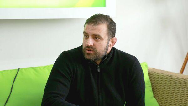 Президент спортивной федерации по борьбе Гега Гегешидзе - Sputnik Грузия