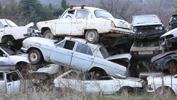 Кладбище старых машин - Sputnik Грузия