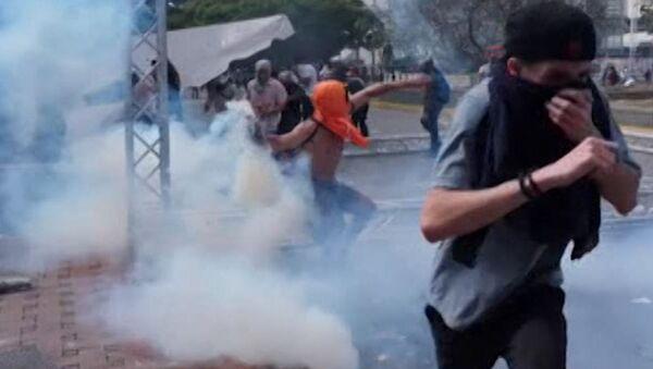 Беспорядки в Венесуэле - несостоявшаяся попытка переворота - Sputnik Грузия