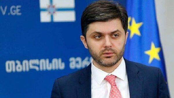 Вице-мэр столицы Грузии Ираклий Хмаладзе  - Sputnik Грузия