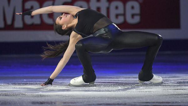 Алина Загитова (Россия) во время показательных выступлений на чемпионате Европы по фигурному катанию в Минске - Sputnik Грузия