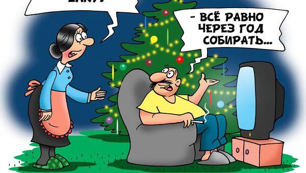 Вечный Новый год - Sputnik Грузия
