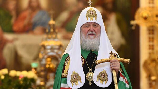 Патриарх Кирилл совершил божественную литургию с сестрами Милосердия - Sputnik Грузия