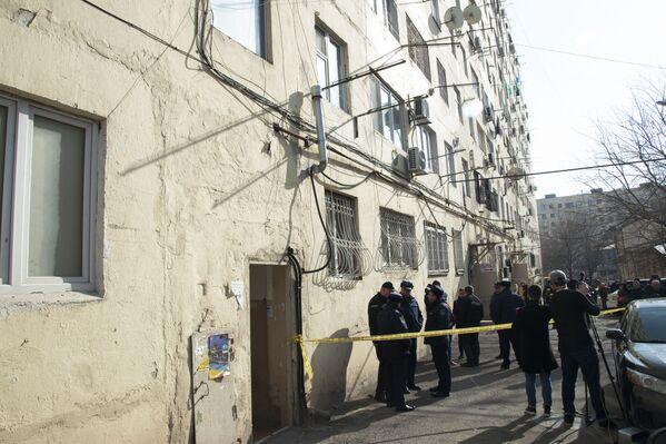 В доме, где произошла трагедия, в настоящее время пока отключена подача газа в целях безопасности - Sputnik Грузия