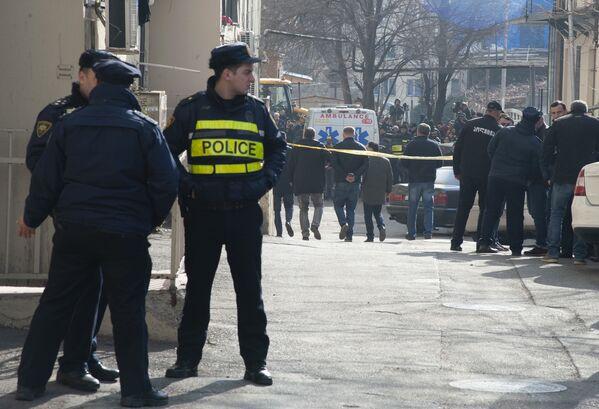 МВД Грузии вскоре после того, как стало известно о происшествии, подтвердило факт гибели семи человек - Sputnik Грузия
