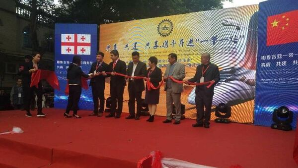 Открытие грузинского бизнес-дома в Гуанчжоу, Китай - Sputnik Грузия