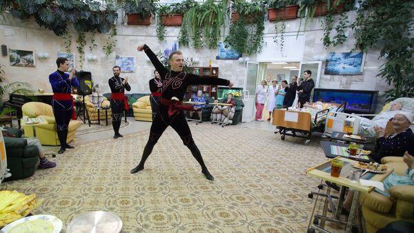Праздник грузинской культуры в московском хосписе  - Sputnik Грузия