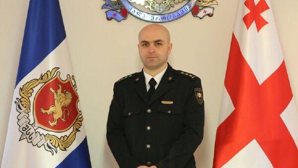 Шеф полиции столицы Грузии Каха Бухрадзе - Sputnik Грузия