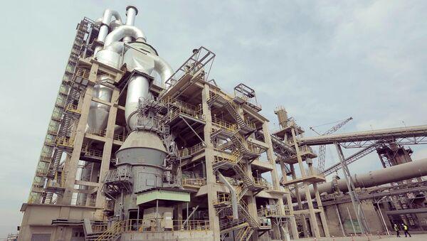 Цементный завод HeidelbergCement в Каспи - Sputnik Грузия