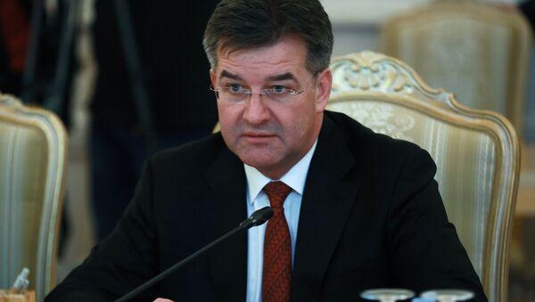 სლოვაკეთის რესპუბლიკის საგარეო და ევროპულ საქმეთა მინისტრი, მიროსლავ ლაიჩაკი - Sputnik საქართველო