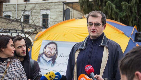 Цотне Гамсахурдия на акции в поддержку Георгия Мамаладзе - Sputnik Грузия