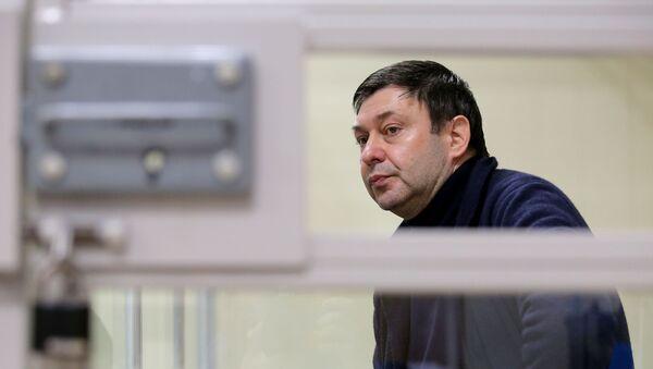 Рассмотрение жалобы на продление ареста журналиста К. Вышинского - Sputnik Грузия