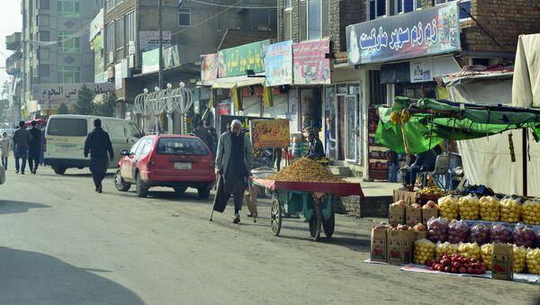 Улица в Кабуле, архивная фото - Sputnik Грузия