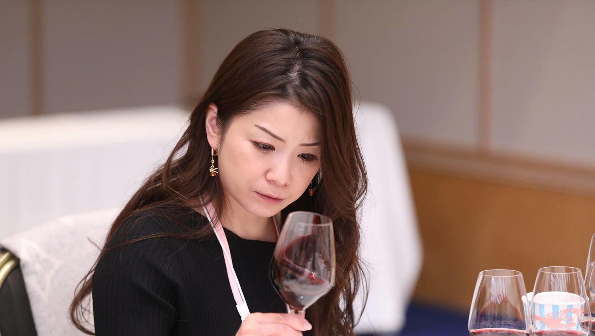 Международный конкурс вина Sakura Japan Women's Wine Awards 2019 в Токио    - Sputnik Грузия, 1920, 11.03.2021