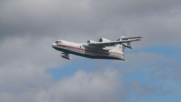 Самолет МЧС РФ ИЛ-76ТД - Sputnik Грузия