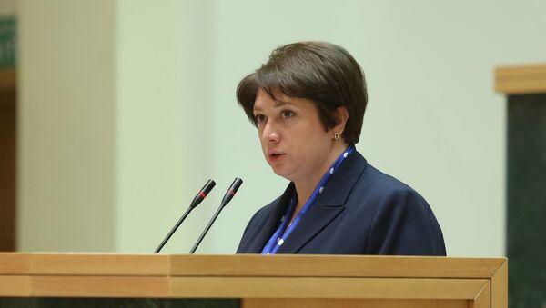 Министр регионального развития и инфраструктуры Грузии Майя Цкитишвили - Sputnik Грузия