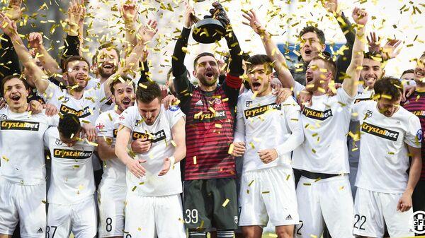 Кутаисское Торпедо выиграло Суперкубок Грузии по футболу - Sputnik Грузия