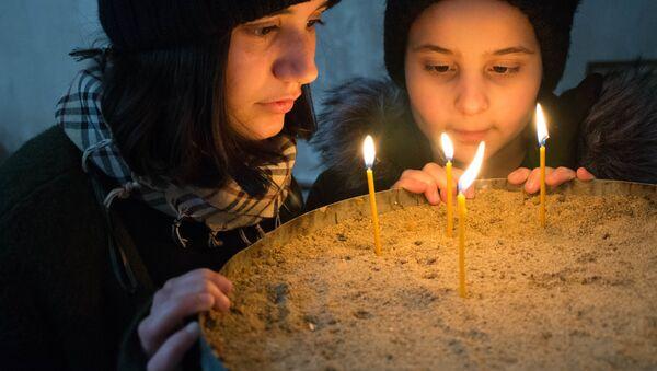 Текла Экаладзе и ее история - фото из серии Жизнь маленькой участницы проекта Ты супер! из Грузии - Sputnik Грузия