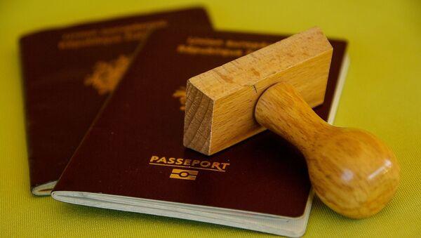 პასპორტი და ბეჭედი  - Sputnik საქართველო