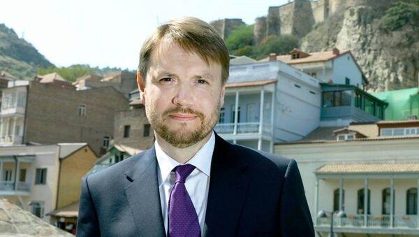 Посол Великобритании в Грузии Джастин Маккензи Смит - Sputnik Грузия