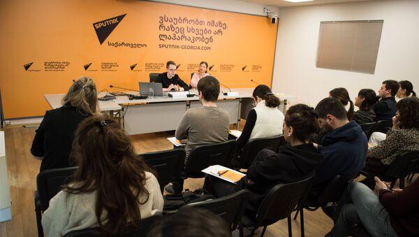 SputnikPro მასტერ-კლასი ჟურნალისტებისთვის - Sputnik საქართველო