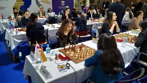 Грузинская женская сборная по шахматам - Sputnik Грузия