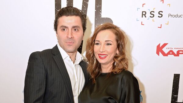 Актер Гурам Баблишвили и телеведущая Анфиса Чехова - Sputnik Грузия