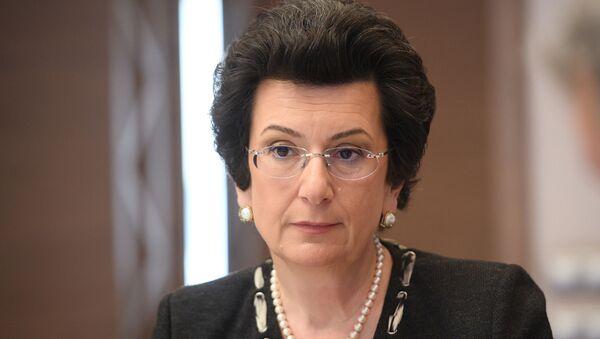 Лидер партии Демократическое движение Нино Бурджанадзе  - Sputnik Грузия