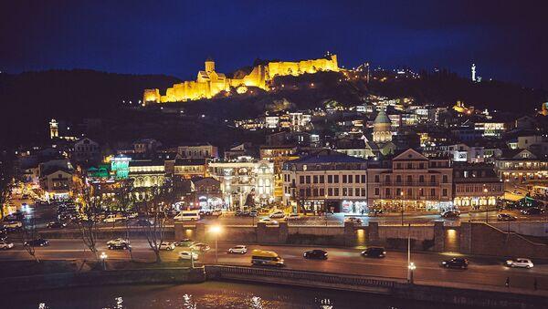 Вечерний Тбилиси - Нарикала, Мейдан, Кала убани. Старый город - Sputnik Грузия