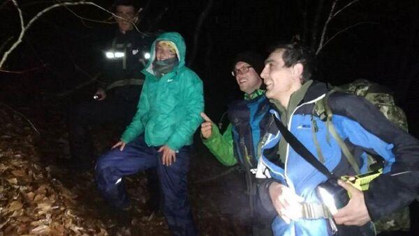 Спасатели нашли туристов из Швейцарии - Sputnik Грузия