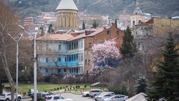 Весна в столице Грузии - Sputnik Грузия