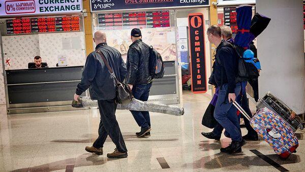 თბილისის აეროპორტში - Sputnik საქართველო