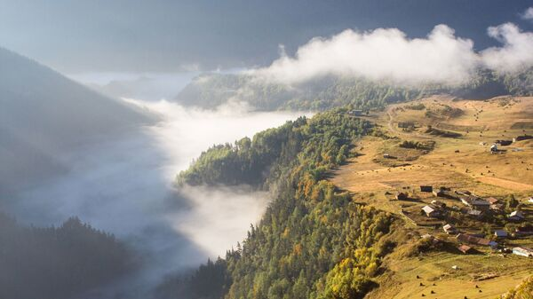 Высокогорный регион Тушети. Захватывающий вид - Sputnik Грузия