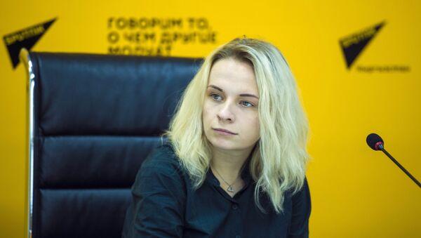 Шеф-редактор Дирекции мультимедийных центров Sputnik Маргарита Некрасова - Sputnik Грузия