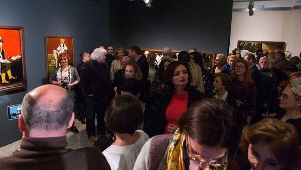 Выставка работ Пиросмани в Таллине - Sputnik Грузия