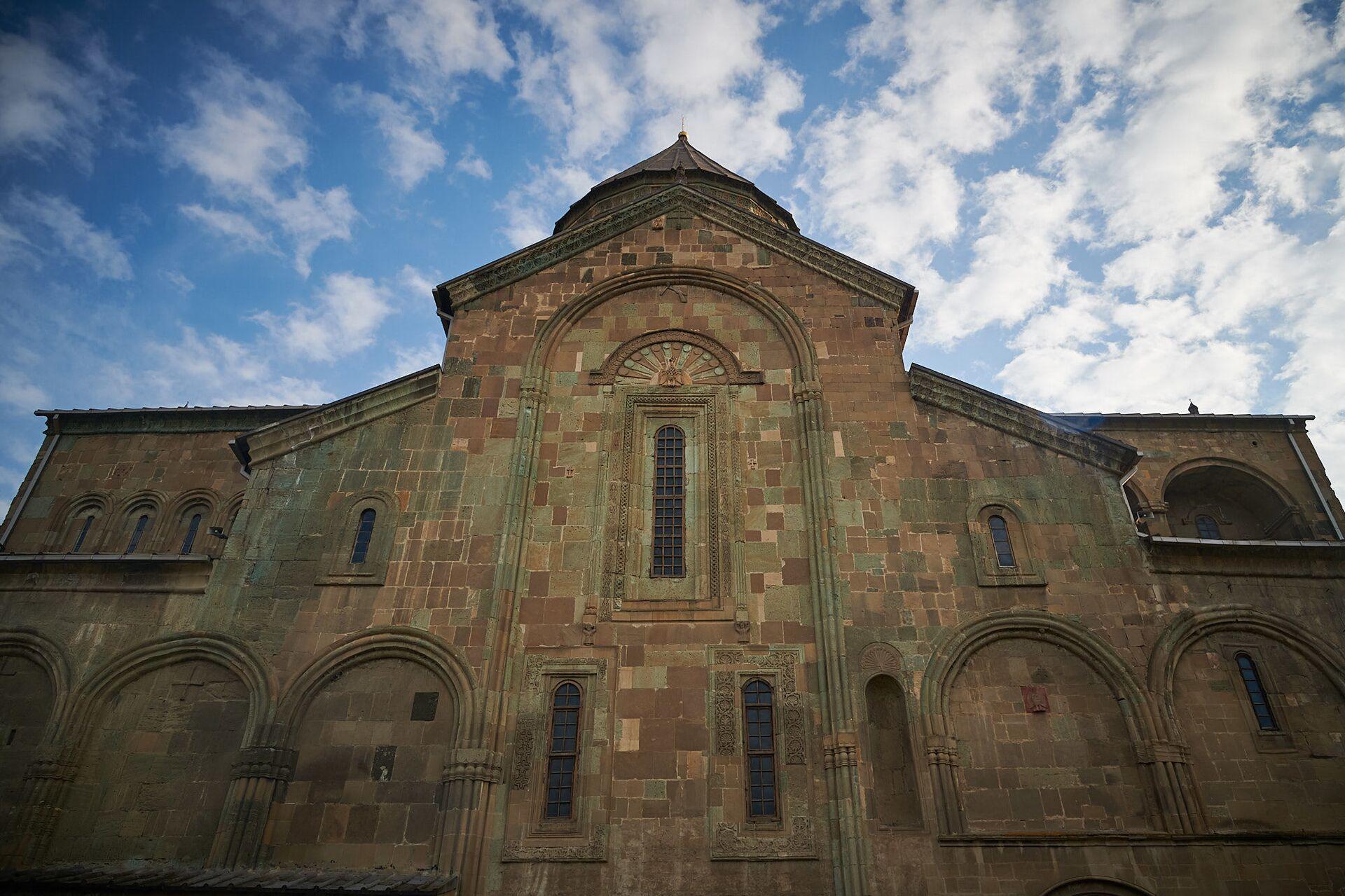 Храм Светицховели в городе Мцхета - Sputnik Грузия, 1920, 13.10.2021