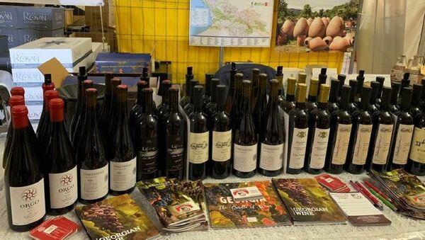 Грузинское вино на Salon Bacchus - Sputnik Грузия