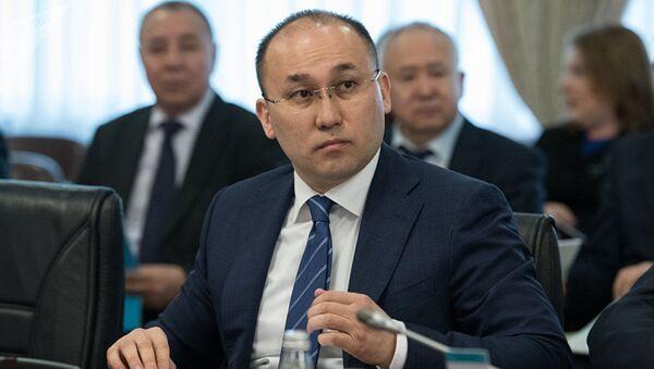 Министр информации и общественного развития Казахстана Даурен Абаев - Sputnik Грузия