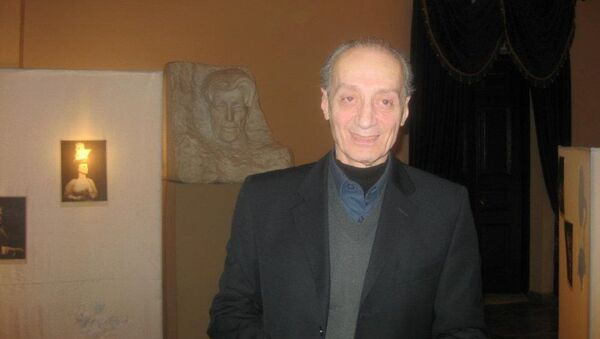 Народный артист Грузии Нодар Мгалоблишвили - Sputnik Грузия