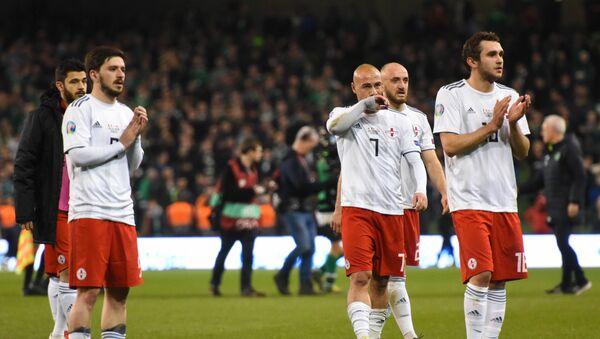 Матч между сборными Грузии и Ирландии по футболу  - Sputnik Грузия