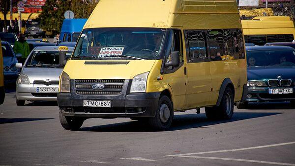 Маршрутное такси - Sputnik Грузия