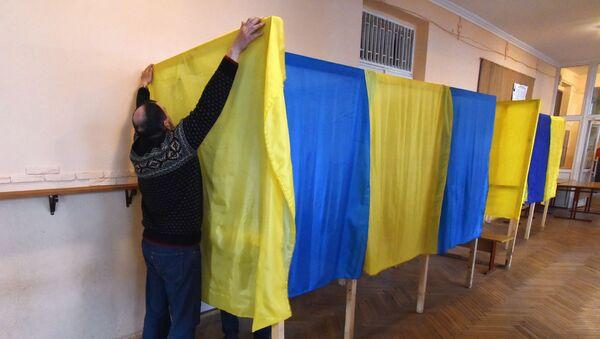 Подготовка избирательных участков к выборам президента Украины - Sputnik Грузия