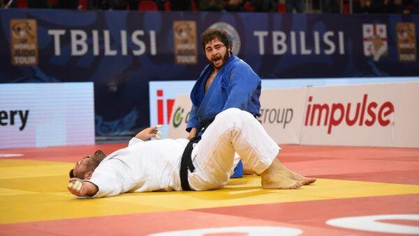 Леван Матиашвили в финале Гран-при по дзюдо. Мужчины - Sputnik Грузия