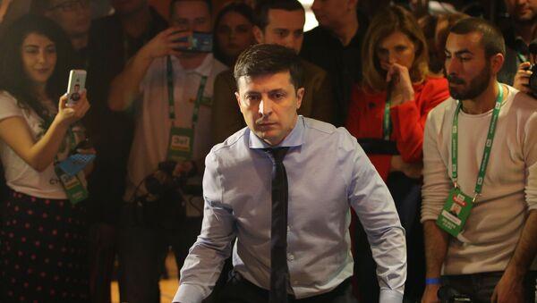 Кандидат в президенты Украины, актер Владимир Зеленский - Sputnik Грузия