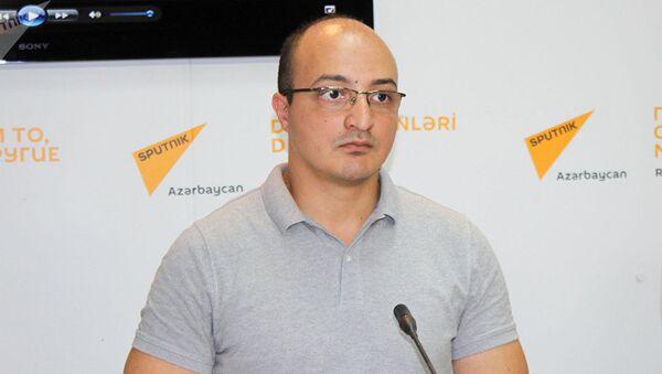 Азербайджанский политолог Заур Мамедов - Sputnik Грузия