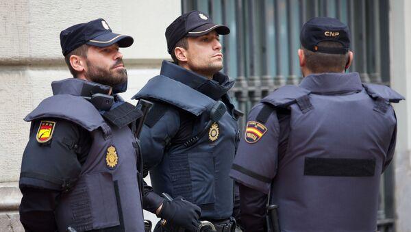 პოლიცია ბარსელონაში - Sputnik საქართველო