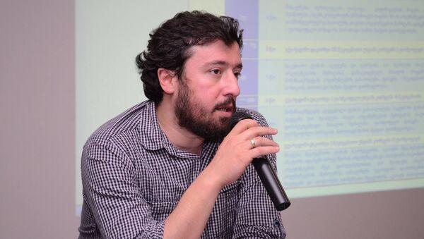 Исследователь в сфере образования Резо Апхазава - Sputnik Грузия