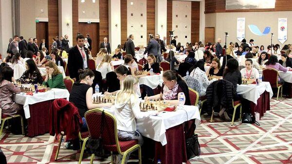 Индивидуальный чемпионат Европы по шахматам среди женщин - Sputnik Грузия